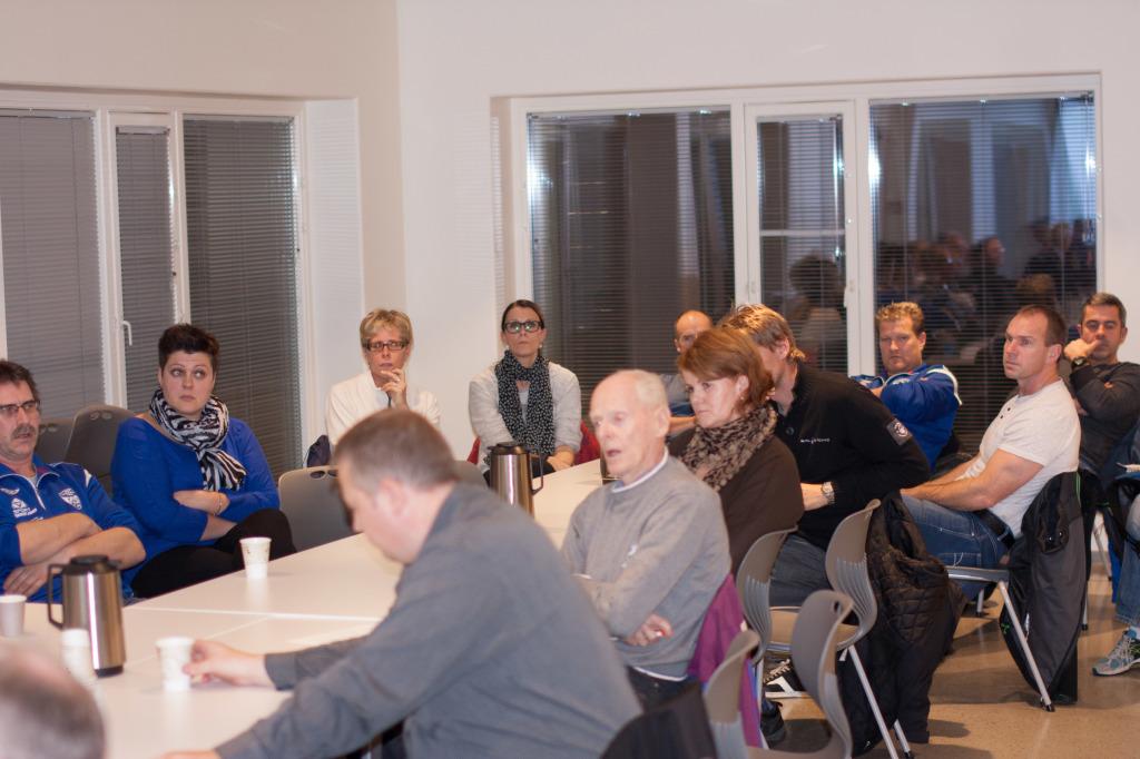 29 medlemmer som møtte på årsmøtet.